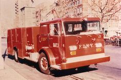 Satellite 1 Comcoach body on Mack C Chassis