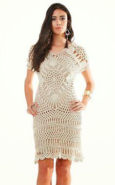 vestido infantil de crochê - Pesquisa Google