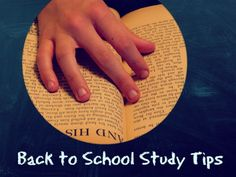 Back to School Study Hints