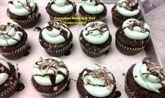 Grasshoppers aka Chocolate Mint by #cupcakesdeli www.cupcakesdeli.com