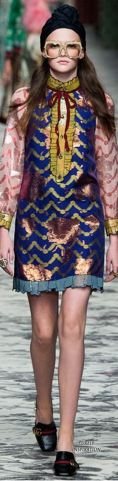 Gucci SS2016 Women's Fashion RTW   Purely Inspiration