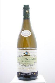 Albert Bichot (Domaine Long-Depaquit) Chablis Vaudésir 2007. France, Burgundy, Chablis, Grand Cru. 6 Bottles á 0,75l. Price realized (9/2016): 180 USD (30 USD/Bottle).