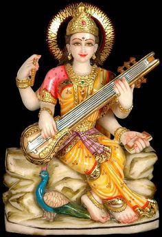 Read all of the posts by Dr. D K Hari and Dr. D K Hema Hari on Saraswati Photo, Saraswati Statue, Saraswati Mata, Saraswati Goddess, Goddess Art, Durga Maa, Wallpaper Images Hd, Hd Images, Wallpaper Downloads
