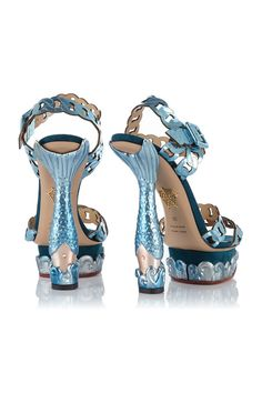 How fun are these Charlotte Olympia Mermaid Heels?? Perfect for an over-the-top beach party!