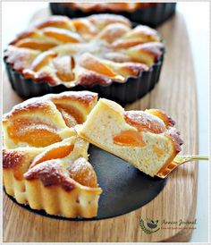 This Gluten Free Apricot Almond Tart with simple ingredients is not too sweet and it doesn't take much effort to prepare