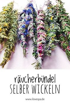 DIY SMUDGE STICKS Archives - I LOVE SPA - Germany& largest spa mag Make smudge sticks yourself / wrap bundles of incense yourself – Here you will find instructions Wedding Ring Sets Unique, Spa Day At Home, Age Of Aquarius, Sound Healing, Smudge Sticks, Diy Fireplace, Diy Spa, Vestidos Vintage, Backyard Projects