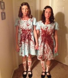 Awesome Halloween costume idea: The creepy twins from The Shining