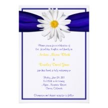 Royal Blue And Yellow Weddings Invitations, 45 Royal Blue And Yellow Weddings Announcements & Invites