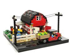 #LEGO Farm. Going to market.