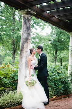 Daniel Stowe Botanical Garden wedding in Belmont. Photos by Lauren Friday Photography.