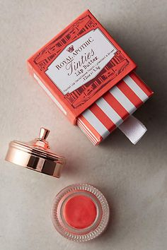 Anthropologie EU Lip Tinties by Royal Apothic. Royal Apothic's luxurious beauty products are modeled after centuries-old formulas blended for European royalty, and created by designer Sean O'Mara in his West Hollywood studio.