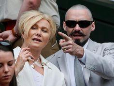Hugh Jackman marca presença em Wimbledon (Foto: Reuters)