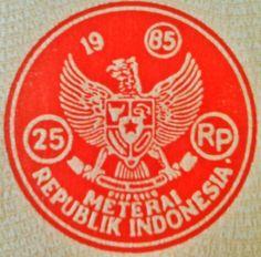 Materai jaman doeloe... #Indonesia