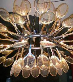 tennis raquet chandelier - Bing Images