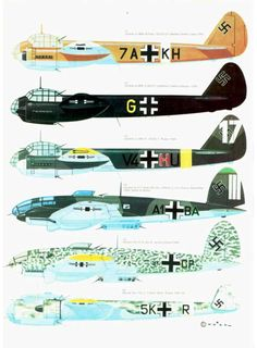 S08 Luftwaffe Colour & Markings 1935-1945 Vol. 2 Page 30-960