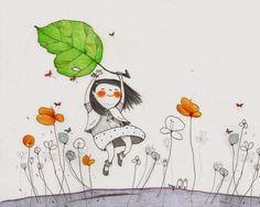 Pinzellades al món: Francesca Quatraro: il·lustracions del món infantil i el seu imaginari