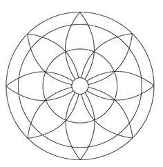 Mandala art how-to's & helps - Mandalas Painting, Mandalas Drawing, Simple Mandala, Mandala Dots, Dot Art Painting, Painting Patterns, Mandela Patterns, Zen Doodle Patterns, Doodle Borders