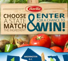 Barilla Discover Spring Possibilities Sweepstakes - Sweeps Maniac