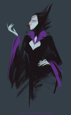 Maleficent by nicolasammarco.deviantart.com on @deviantART