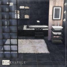 Alhena Bathroom at Simenapule via Sims 4 Updates