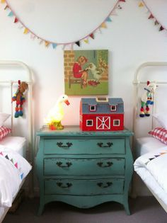 Entryway Decorations : IDEAS & INSPIRATIONS: Entryway Design Ideas **Farmhouse, vintage, teal & red, Simple**