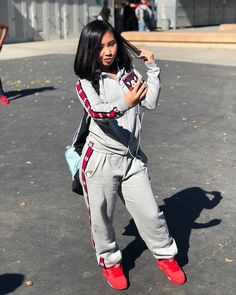 43 casual and comfy day dresses for your everyday look Chill Outfits, Dope Outfits, Swag Outfits, Trendy Outfits, Urban Fashion, Teen Fashion, Fashion Outfits, School Fashion, Outfit Goals