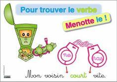 14 - repérer verbe en le menottant - tikis - cleclasse - #grammaire
