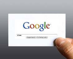 Business card - Tells you where to go to get all the information you need. Simple. Smart.