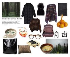 """Hokkaido hipster starter pack"" by shiki-sakurai ❤ liked on Polyvore featuring Bynd Artisan, Pier 1 Imports, Retrò, Gérard Darel, INDIE HAIR, Inverni and no!no!"
