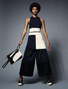 FASHION: Elle France showcases the Afro in new editorial with model Malaika Firth - AFROPUNK