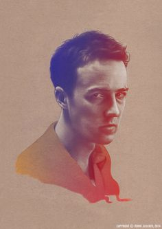 Fight Club Set on Behance Fight Club, Psychedelic, Illustration Art, Colours, Portrait, Film, Movie Posters, Behance, Artists