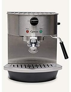 Capresso 119.05 Stainless Steel Pump Espresso and Cappuccino Machine. >>> Click image for more details. We are a participant in the Amazon Services LLC Associates Program, an affiliate advertising program designed to provide a means for us to earn fees by linking to Amazon.com and affiliated sites.