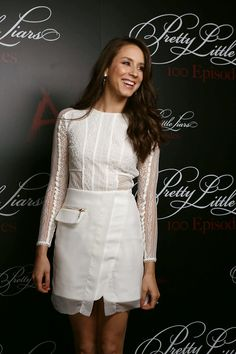How gorgeous was Troian at the PLL 100th episode party?!