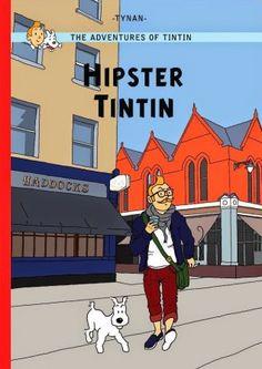 pour traiter les sujets liés à l'islamisme radical sur PV-TV, Tintin reporter avait décidé de se laisser pousser la barbe