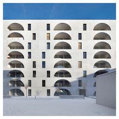 "styletaboo: "" Bearth & Deplazes Architekten - New Building Residence Arcadas [Switzerland, 2015] """