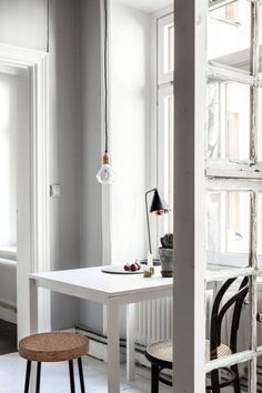 Aesence | Minimal Dining Room Ideas | White Dining table | Simplicity & Minimalism