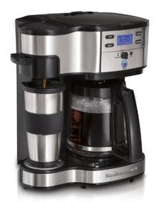 Hamilton Beach Two Way Brewer Single Serve and 12-cup Coffee Maker: Amazon.com: Kitchen & Dining