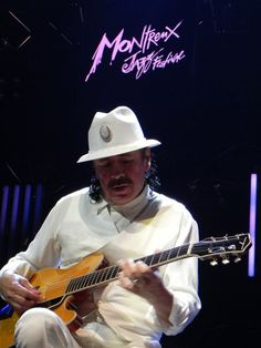 Carlos Santana at Montreux Jazz Festival (Switzerland) Montreux Jazz Festival, Switzerland Tourism, The Mont, Drive Me Crazy, Taxi Driver, Celebrities, Music, Bucket, Hearts