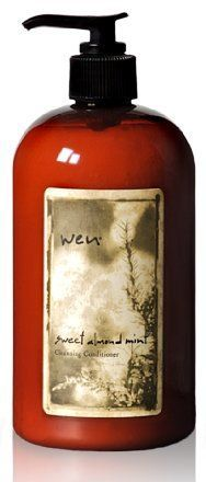 WEN® Sweet Almond Mint Cleansing Conditioner - Sweet Almond Mint is the perfect balance of nourishing herbs and natural ingredients designed to hydrate and replenish hair that has been damaged due to shampoo and other harsh elements. Wen Hair Care, Hair Care Tips, Hair Tips, Hair Ideas, Cleansing Conditioner, Hair Conditioner, Natural Hair Care, Natural Hair Styles, Beauty Secrets
