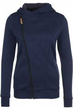 Dames sportjassen - Fleece jack dark blue