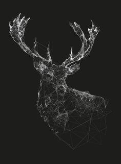 Triangulated Deer