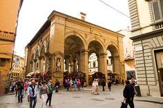 Mercato Nuovo (Porcellino market) - & AC building!