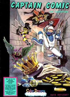 NES Games - Captain Comic