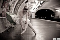 ballet in paris metro