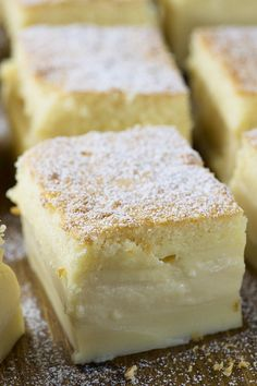 Vanilla Magic Custard Cake is melt-in-your-mouth soft and creamy dessert. It's like hocus pocus!Vanilla Magic Custard Cake is melt-in-your-mouth soft Best Cake Recipes, Sweet Recipes, Boxed Cake Recipes, Crazy Cake Recipes, French Dessert Recipes, Healthy Cake Recipes, Dessert Cake Recipes, Dessert Food, Dessert Bars