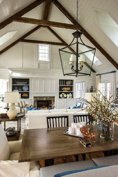 Love everything about this #greatroom!