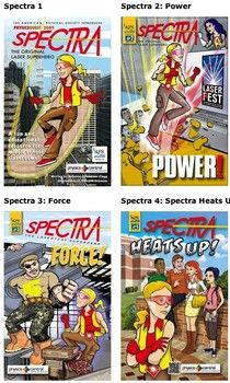 Free physics comic books and coloring books