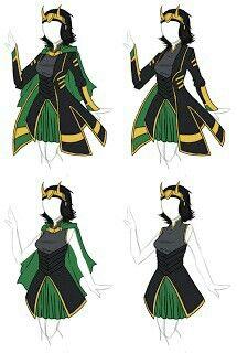 Female loki costume