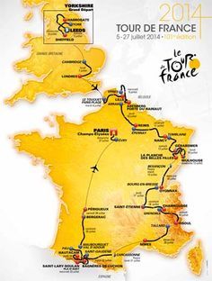 Tour de France 2014 -The show can't stop...coming soon in July.....