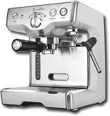 Some day... Breville die cast automatic espresso machine!!!! model #800esxl Breville - Espresso Machine - Stainless-Steel